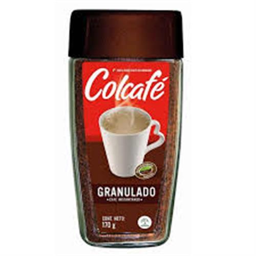 Foto CAFE SOLUBLE GRANULADO COLCAFE 170GR FCO de
