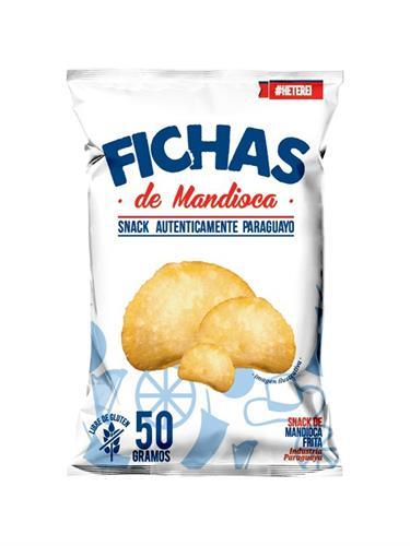Foto MANDIOCA FRITA 50GR FICHAS BSA de
