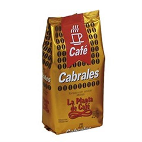 Foto CAFE TORRADO CON AZUCAR MOLIDO 250GR CABRALES PAQUETE  de