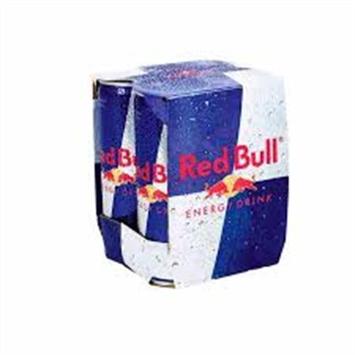 Foto ENERGIZANTE RED BULL 250ML LATA 4UN PACK de