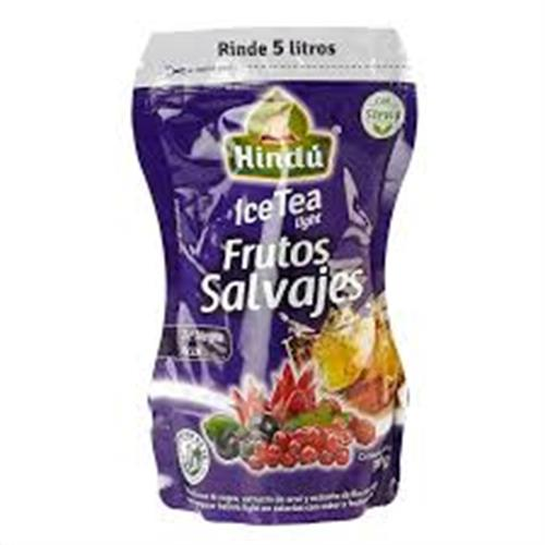 Foto TE NEGRO ACAI 300GR HINDU ICE TEA LIGHT FRUTOS SALVAJES DOYPACK de