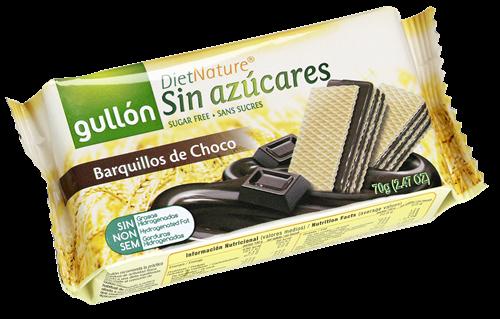 Foto GALLETITAS WAFER 12X70GR DE CHOCOLATE DIET NATURE GULLON BSA de