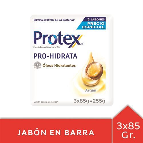Foto JABON TOC PRO HIDRATA ARGAN PROTEX 85GR 3UN PACK de