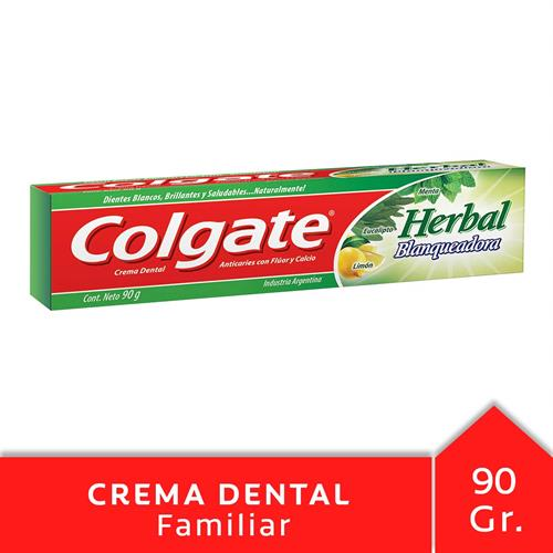 Foto CREMA DENTAL COLGATE HERBAL BLANQUEADORA 90GR CJA de