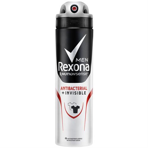 Foto DESODORANTE MEN ANTIBACTERIAL INVISIBLE 150ML REXONA AER de