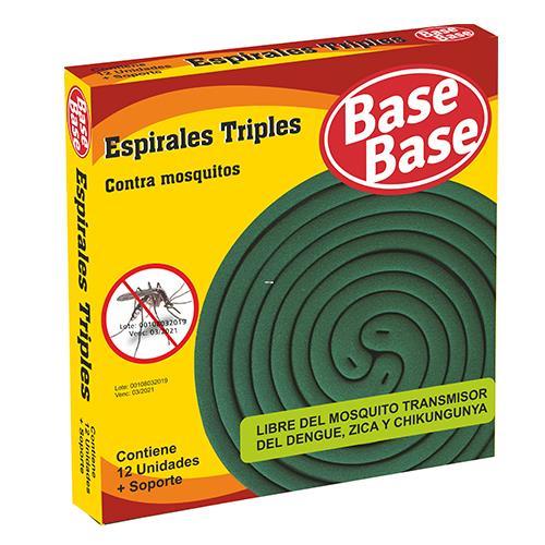 Foto ESPIRAL TRILLIZAS 12UNID BASE BASE PAQUETE  de
