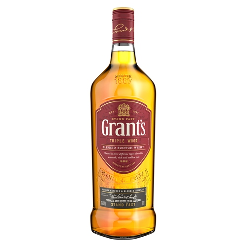 WHISKY GRANTS SIN CAJA CON GOTERO 1 LITRO
