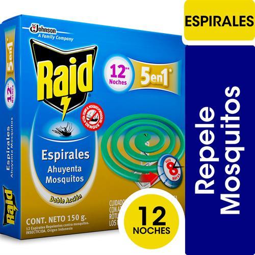 Foto ESPIRAL DOBLE ACCION 150GR RAID CAJA  de