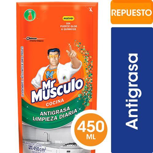 Foto ANTIGRASA TOTAL COCINA NARANJA 450ML MR MUSCULO DOYPACK de