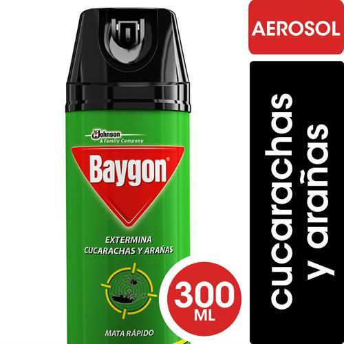 Foto INSECTICIDA P/CUCARACHAS VERDE 300ML BAYGON AER de