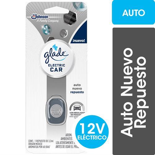 Foto AROMATIZANTE ELECTRIC AUTO CAR 32ML GLADE REPUESTO BLIS de