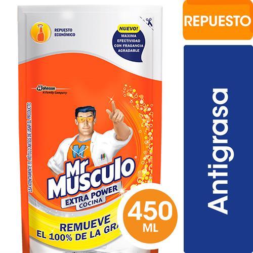 Foto LIMPIADOR EXTRA POWER 450CM MR MUSCULO RESPUESTO de