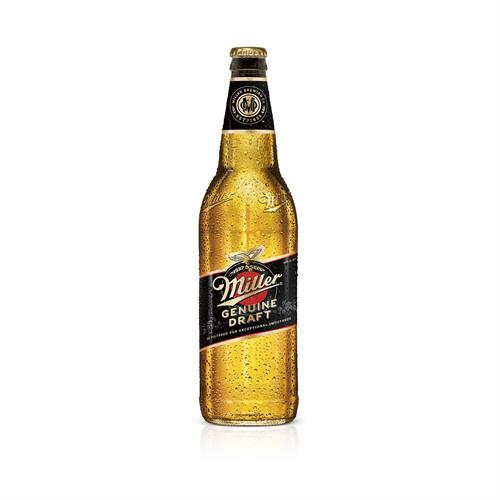 "Foto CERVEZA ""MILLER"" GENUINE DRAFT BOTELLA 650ML de"