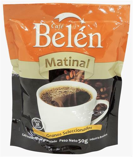 Foto CAFE INSTANTANEO BELEN MATINAL POUCH 50 GR de