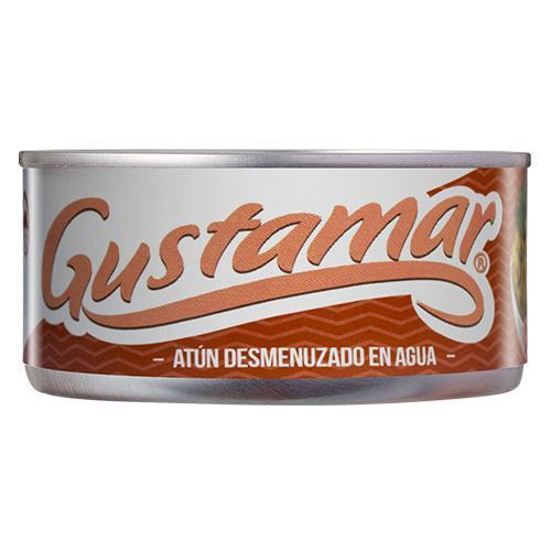 Foto ATUN DESMENUZADO EN AGUA 140GR GUSTAMAR LATA de