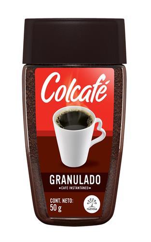 Foto CAFE SOLUBLE GRANULADO 50GR COLCAFE FCO de