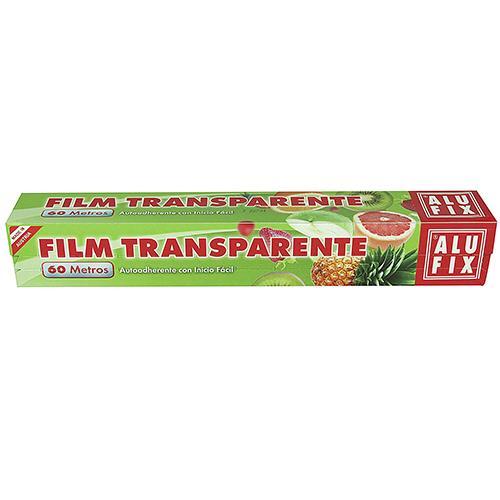 Foto FILM TRANSPARENTE 60MT ALUFIX CAJA  de