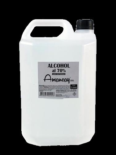 Foto ALCOHOL AL 70 % AMANCAY 5LT PLAST de