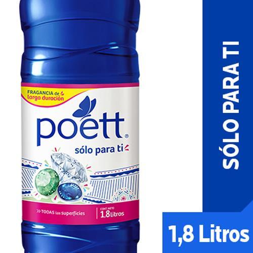 Foto LIMPIADOR DE PISO POETT SOLO PARA TI 1800ml  de