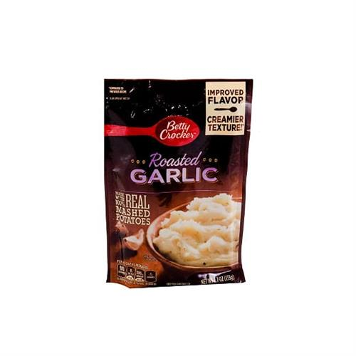 Foto PURE DE PAPA MASHED POT SAVO6RY ROASTED GARLIC 133 GR BETTY CROCKER CAJA  de