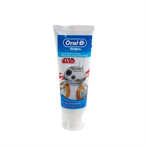 Foto PASTA DENTAL 75ML STARWARS ORAL B STAGES de