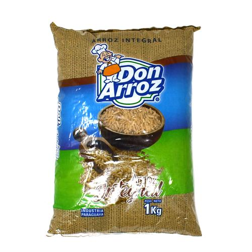 Foto ARROZ INTEGRAL DON ARROZ 1KG PAQ de