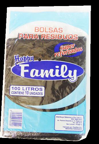 Foto BOLSA PARA RESIDUOS REFORZADO H.FAMILY 100LTS de
