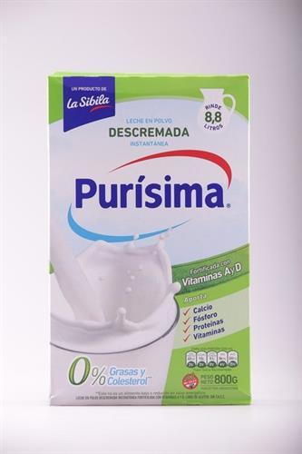 Foto LECHE EN POLVO DESCREM PURISIMA CAJA 800 GR de