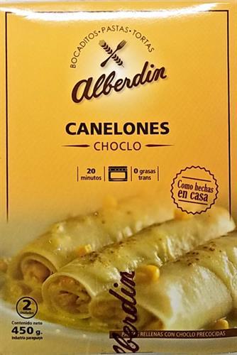 Foto CANELONES DE CHOCLO 450GR ALBERDIN CAJA  de