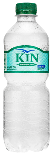 Foto AGUA MINERAL SIN GAS 500ML KIN PET de