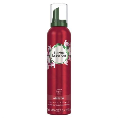 Foto ESPUMA MOLDEADORA MOUSSE RIZOS 227GR HERBAL ESSENCES AER de