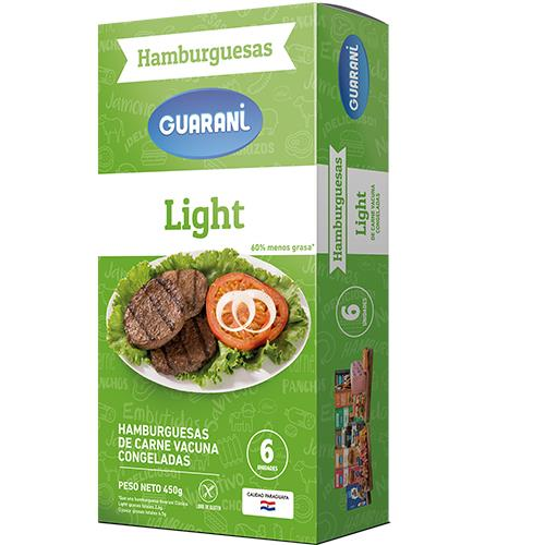 Foto HAMBURGUESA LIGHT GUARANI 6 UNIDADES  de