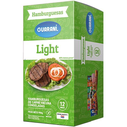 Foto HAMBURGUESA LIGHT GUARANI 12 UNIDADES de
