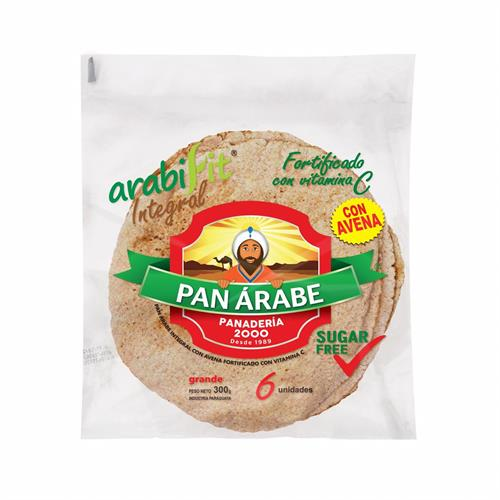 Foto PAN ARABE FIT PANADERIA 2000 6UN BSA de