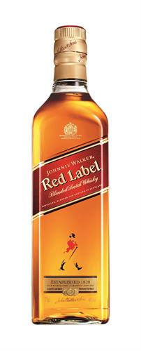 Foto WHISKY JOHNNIE WALKER RED LABEL BOTELLA 750ML de