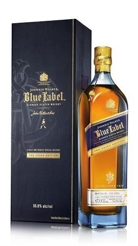 Foto WHISKY JOHNNIE WALKER BLUE LABEL BOTELLA 750ML de