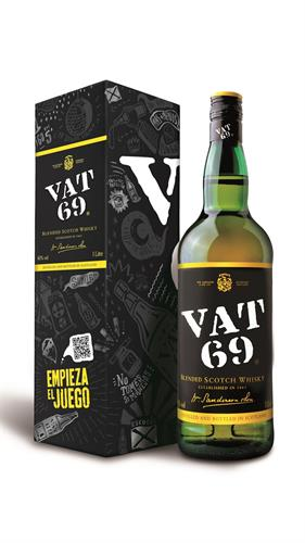 Foto WHISKY VAT 69 BOTELLA 1 LITRO SIN CAJA de