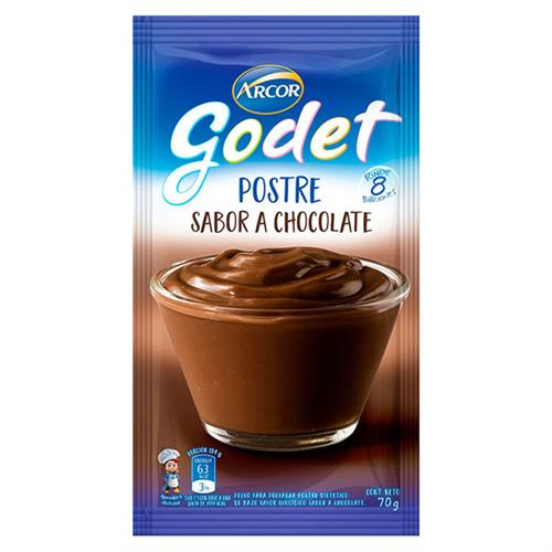 Foto POSTRE DE CHOCOLATE GODET 70GR de