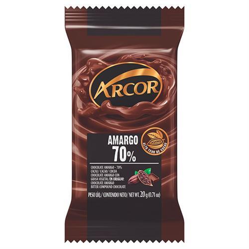 Foto ARCOR TABLETA DE CHOCOLATE AMARGO 20 GR de