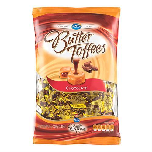 Foto CARAMELOS BUTTER TOFFEES CHOCOLATE 150 GR. de