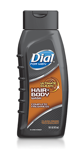 Foto GEL DE DUCHA DIAL HAIR FOR MEN 473ML de