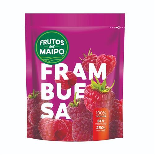 Foto FRAMBUESAS 250 GR FRUTOS DEL MAIPO PAQUETE  de
