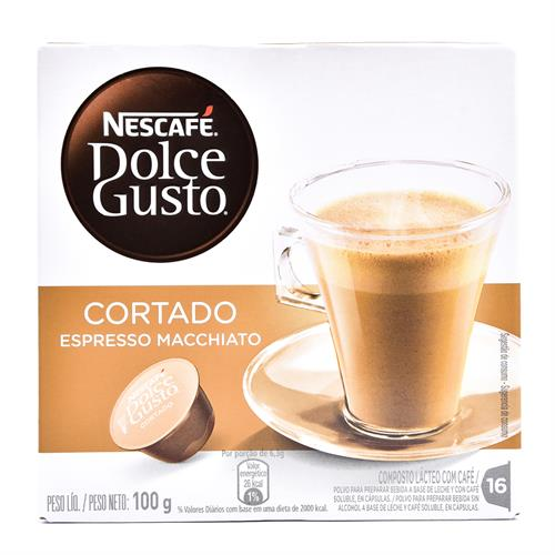 Foto CAFÉ NESCAFE DOLCE GUSTO CORTADO 16 CÁPSULAS de