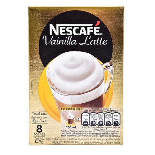 Foto CAFE VAINILLA LATTE 148GR NESCAFE CJA de