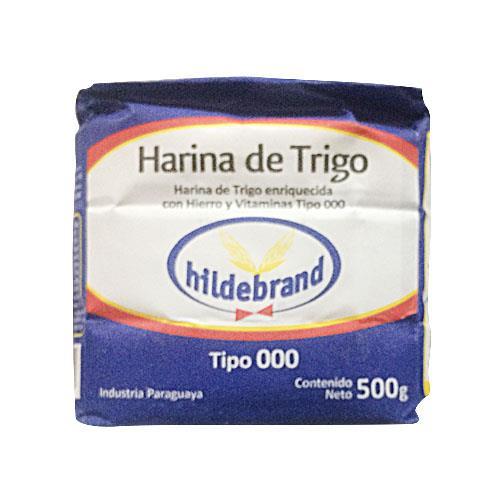 Foto HARINA DE TRIGO TIPO 000 500GR HILDEBRAND PAQ de