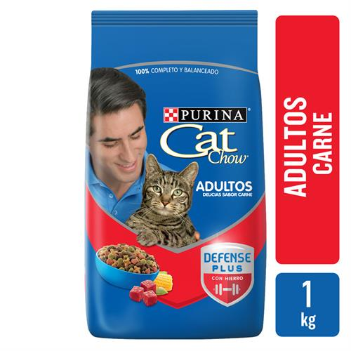 Foto ALIMENTO PARA GATO DELICIAS DE CARNE 1KG CAT CHOW BSA de
