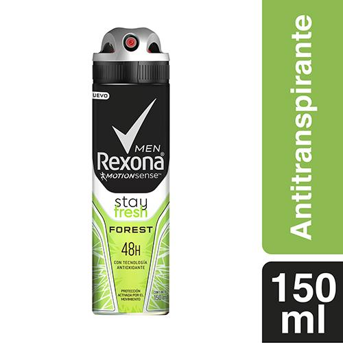 Foto DESODORANTE MEN STAY FRESH FOREST 150ML REXONA AEROSOL de