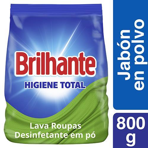 Foto DETERGENTE EN POLVO ANTIBAC BRILHANTE 800GR BSA de