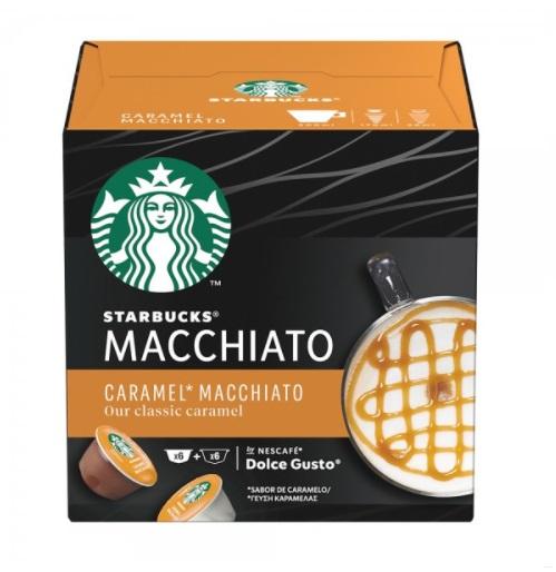 CAFE EN CAPSULAS STARBUCKS MACCHIATO 127GR 12UN