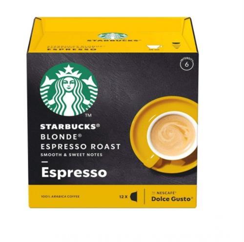 Foto CAFE EN CAPSULAS STARBUCKS BLONDE ESPRESSO 66GR12UN de